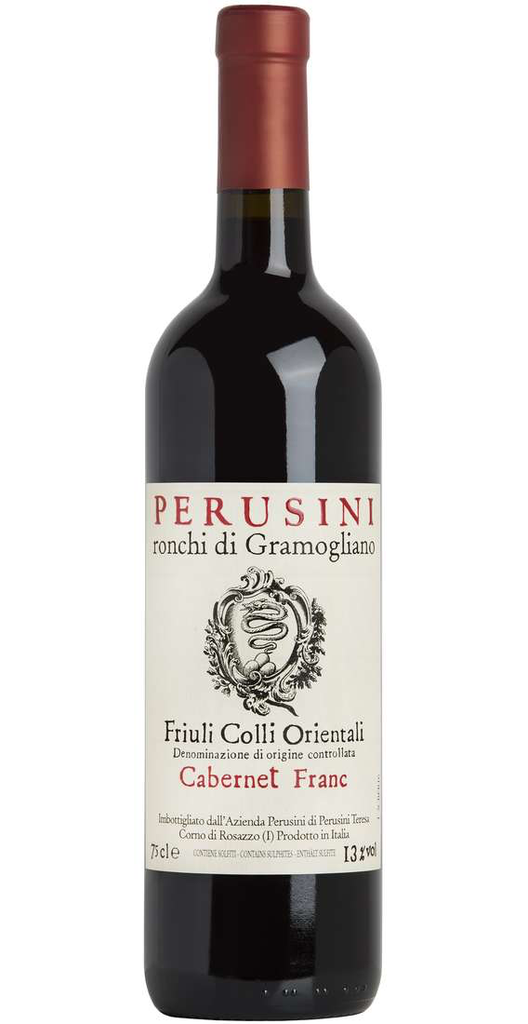 Perusini Ronchi di Gramogliano Cabernet Franc Friuli Colli Orientali 2016 750ml