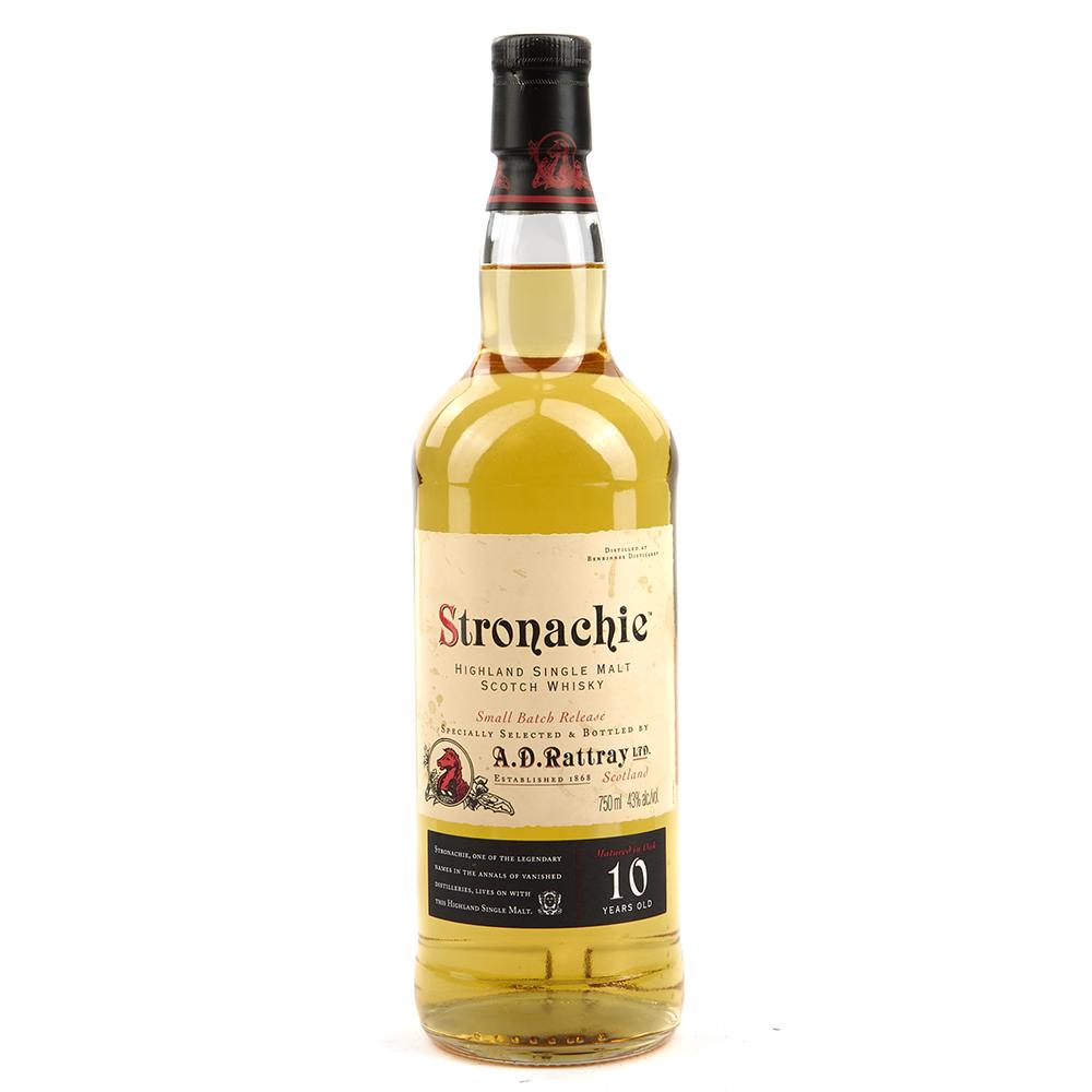 Stronachie 10 Year Highland Single Malt Scotch Whisky 750ml