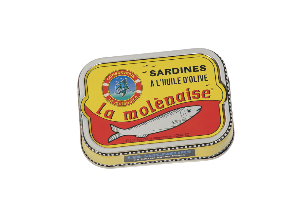 La Molénaise Sardines al'Huile d'Olive 4oz