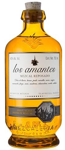 Los Amantes Mezcal Artesanal Reposado 750ml