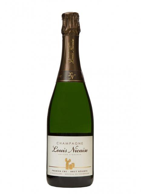 Louis Nicaise Brut Réserve Premier Cru Champagne NV 750ml