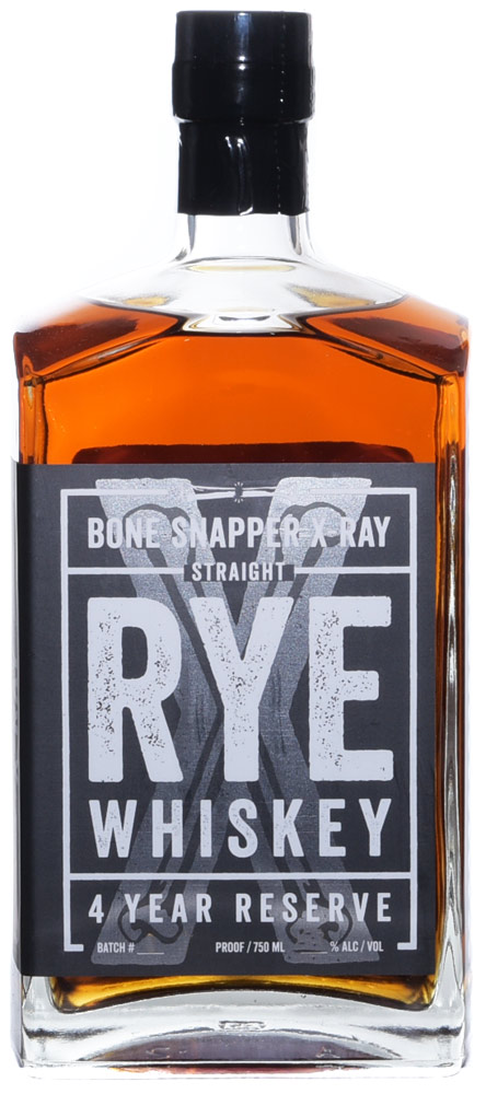 """Bone Snapper """"X-Ray"""" 4 Year Reserve Rye Whiskey 750ml"""