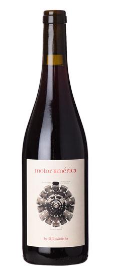 """4 Kilos """"Motor America"""" Vino Tinto Callet Manto Negro Espania 2018 750ml"""