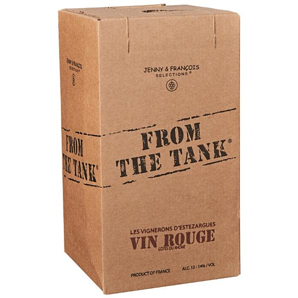 From the Tank Cotes du Rhone Vin Rouge Boxed Wine 3L