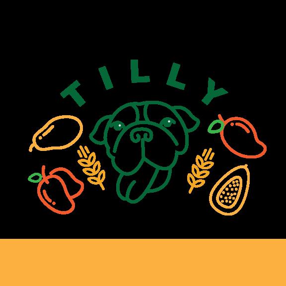 "Bold Dog ""Tilly"" Mango Papaya Hefeweizen 16oz 4pk"