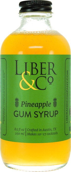 Liber & Co. Pineapple Gum Syrup 250ml