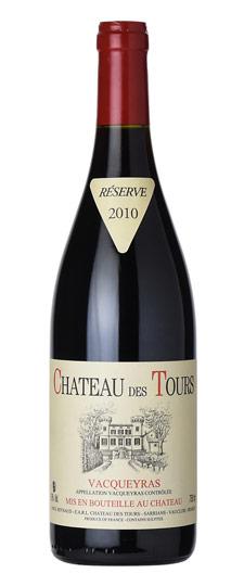 Chateau des Tours Vacqueyras Résreve 2012 750ml