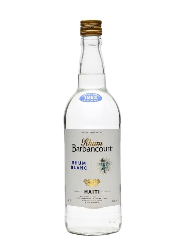 Rhum Barbancourt White Rhum Haiti 750ml