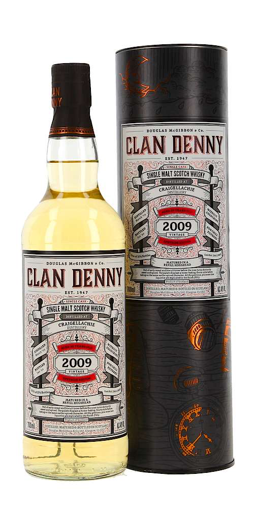 Douglas McGibbon & Co Clan Denny Craigellachie 10 Year Single Malt Scotch Whisky 2009 750ml