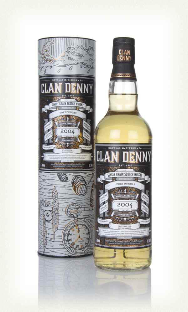 Douglas McGibbons & Co. Clan Denny Port Dundas Single Grain Scotch Whisky 750ml