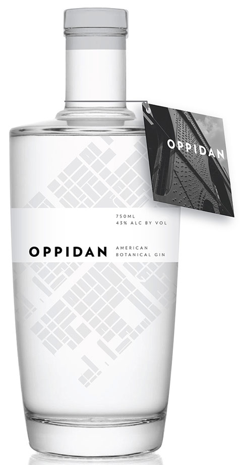 Oppidan Gin One Liter (750ml bottle pictured)