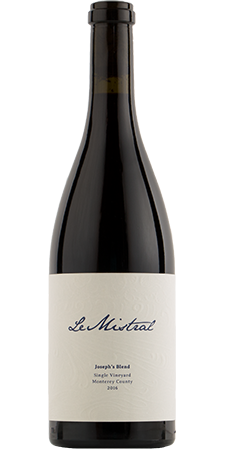 "Le Mistral ""Joseph's Blend"" Single Vineyard Monterey County 2017 750ml"