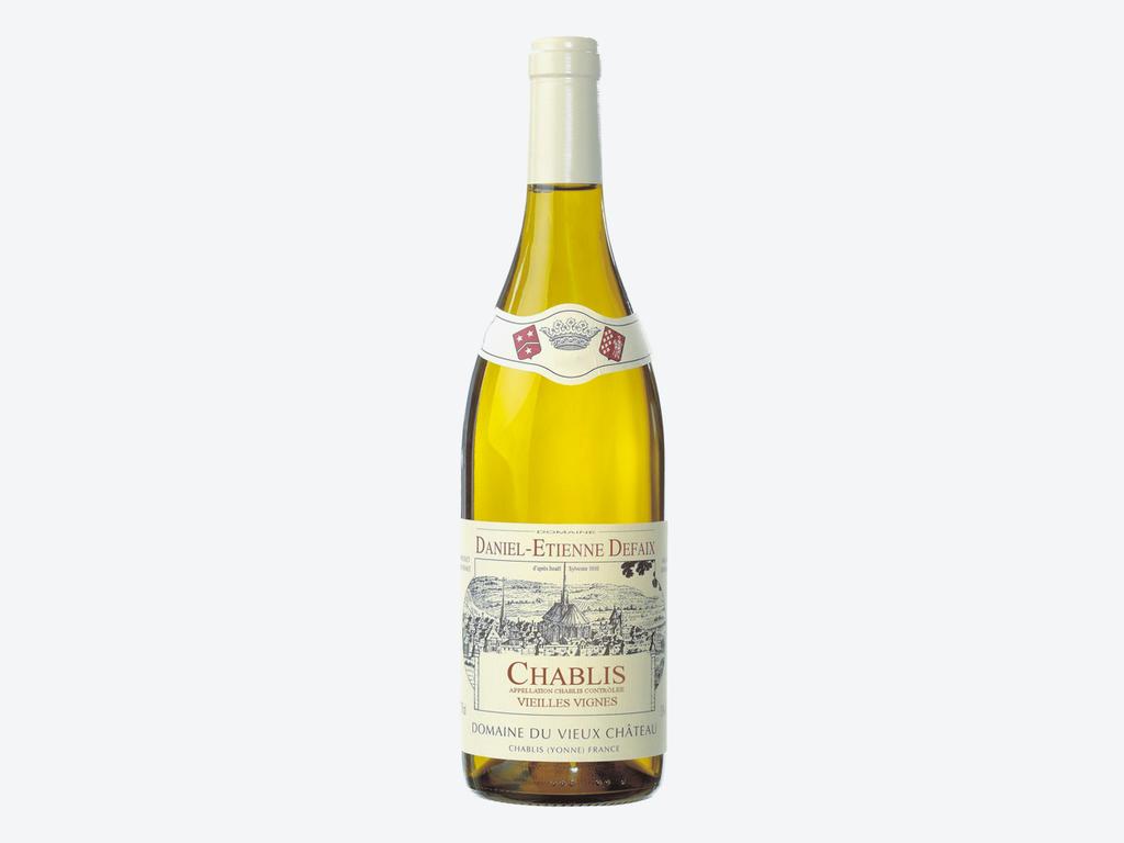 Daniel-Etienne Defaix Domaine du Viueux Chateau Chablis Vieilles Vignes 2015 750ml