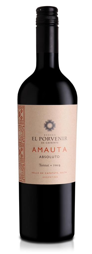 "El Porvenir de Cafayate ""Amauta"" ""Absoluto"" Tannat Valle de Cafayete, Salta Argentina 2018 750ml"
