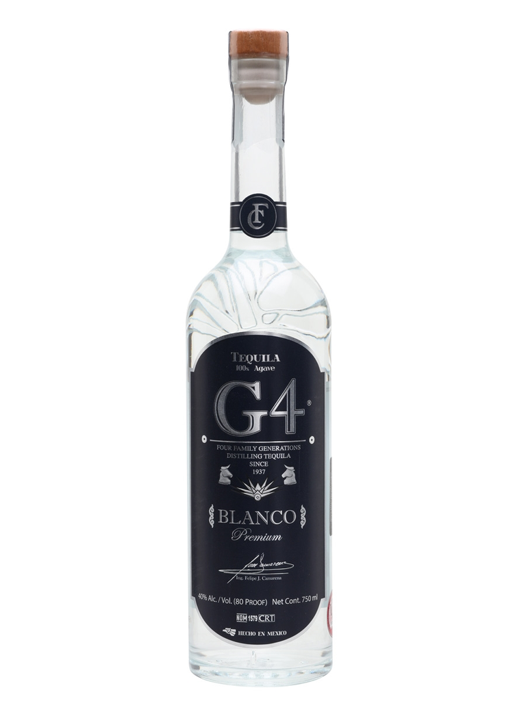 G4 Blanco Tequila 750ml