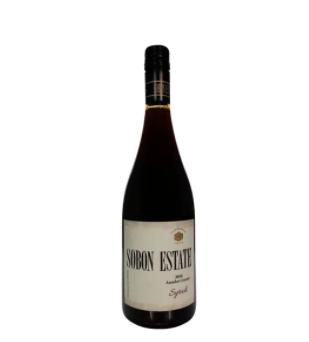 Sobon Estate Syrah Amador County 2018 750ml