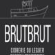 """Cidrerie du Leguer """"BrutBrut"""" Cidre 750ml"""