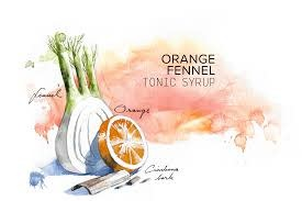 Joanna's Orange Fennel Tonic Syrup 8oz