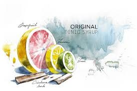Joanna's Original Tonic Syrup 8oz