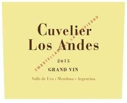 """Cuvelier Los Andes """"Grand Vin"""" Valle de Uco Mendoza 2016 750ml"""