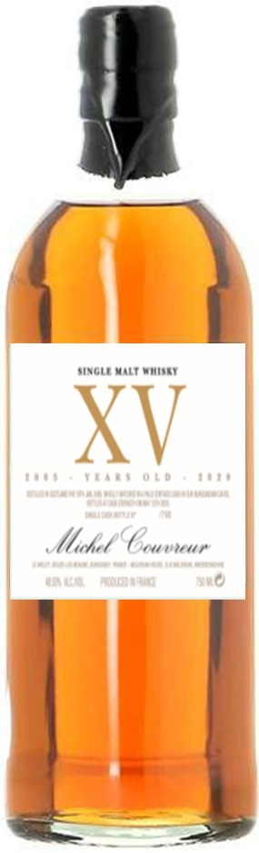 Michel Couvreur XV 15 Years Old Single Malt Whisky 750ml