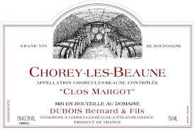 "Dubois Bernard et Fils Chorey-Les-Beaune ""Clos Margot""2017 750ml"