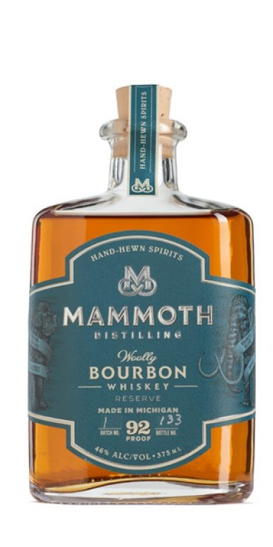 "Mammoth Distilling ""Woolly"" Bourbon Whiskey 750ml"
