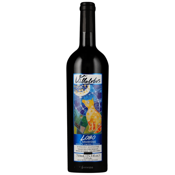 "Villalobos ""Lobo"" Carmenere Reserve Limited Edition Valle de Colchagua 2018 750ml"