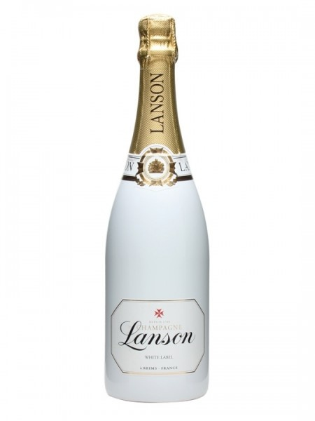 "Lanson ""White Label Champagne Dry Sec NV 750ml"
