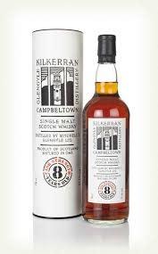 Kilkerran 8 Year Cask Strength Single Malt Scotch Whisky 750ml
