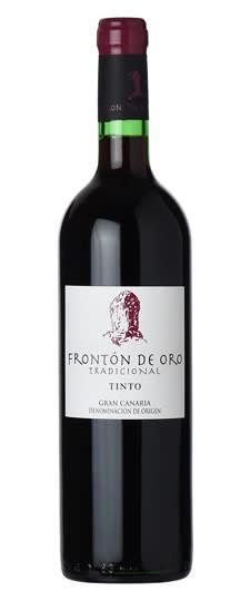 """Fronton de Oro """"Tradicional"""" Tinto Gran Canaria Canary Islands 2018 750ml"""