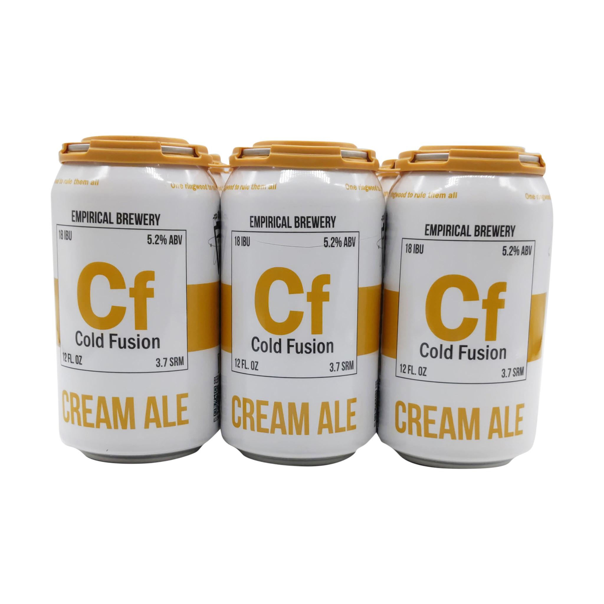 """Empirical """"Cold Fusion"""" Cream Ale 12oz 6pk"""