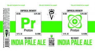 "Empirical ""Proton"" India Pale Ale 12oz 4pk"