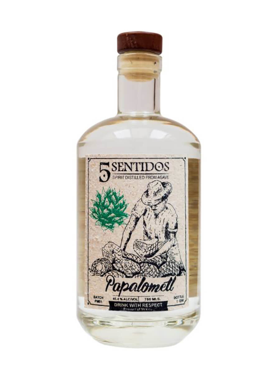 Cinco Sentidos Papalometl Agave Spirit 750ml