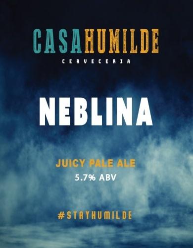 """Casa Humilde """"Neblina"""" Juicy Pale Ale 16oz 4pk"""