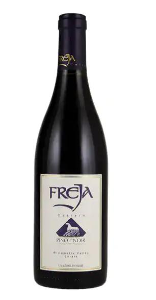 Freja Cellars Pinot Noir Chehalem Mountains Estate 2014 750ml