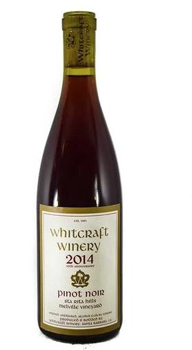 Whitcraft Pinot Noir Santa Rita Hills 2019 750ml