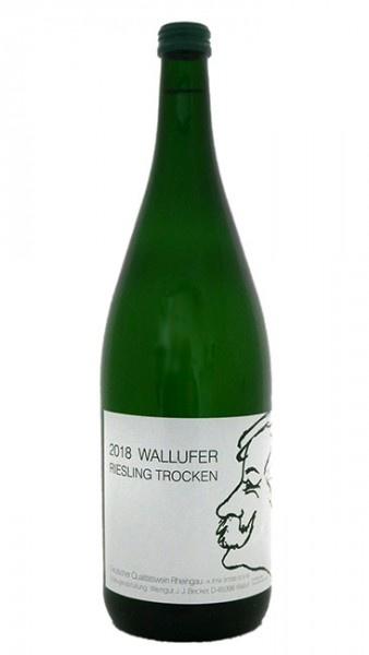 J. J. Becker Rheingau Wallufer Riesling Trocken 2018 1L