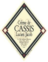 Lucien Jacob Creme de Cassis 750ml