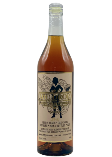 "Mic. Drop Rye ""L20-01"" Aged 4 Years 750ml"