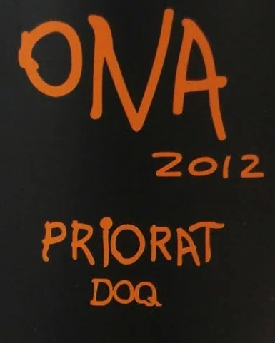 Ona Priorat 2016 750ml