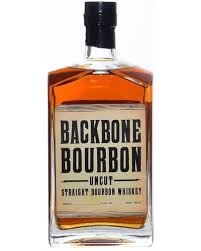 "Backbone Bourbon ""Uncut"" Straight Bourbon Whiskey 750ml"