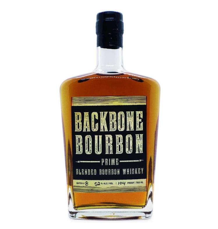 """Backbone """"Prime"""" Blended Bourbon Whiskey"""