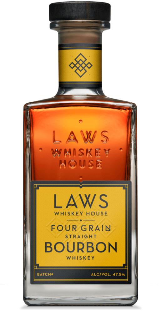 Laws Four Grain Straight Bourbon Whiskey 750ml