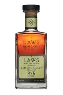 Laws San Luis Straight Rye Whiskey 750ml