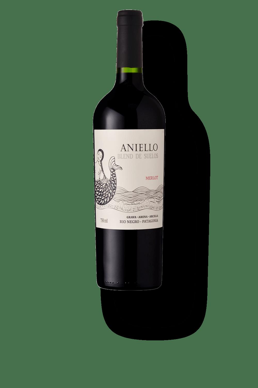 """Aniello Soil """"Corte de Merlot"""" Rio Negro Patagonia 2015 750ml"""