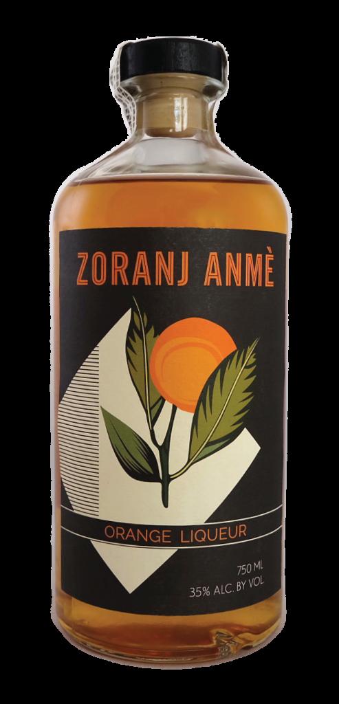 Zoranj Anme Orange Liqueur Haiti 750ml