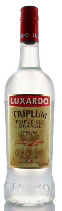 "Luxardo ""Triplum"" Triple Sec Orange Liqueur 1L"