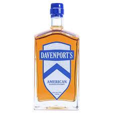 Davenport's American Blended Whiskey 750ml