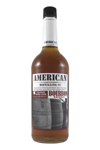 American Distilling Co Bourbon Whiskey 1L